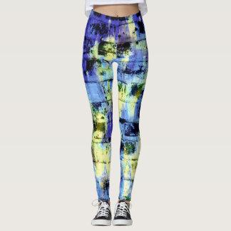 Colorful Paint Splatter Leggings