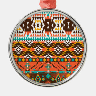 colorful painted pattern Silver-Colored round decoration