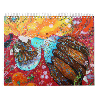 Colorful Paintings. 2013. Calendar