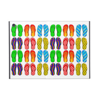 Colorful Pairs of Flip Flop Summer Pattern Custom Cover For iPad Mini