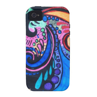 COLORFUL PAISLEY Case-Mate iPhone 4 CASE