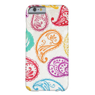 Colorful Paisley Print Barely There iPhone 6 Case