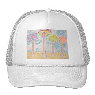 Colorful Palms-hat Cap