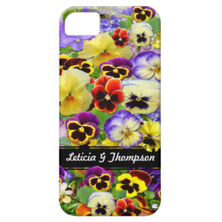 Colorful Pansies  ~  iPhone 5 Barely There Case
