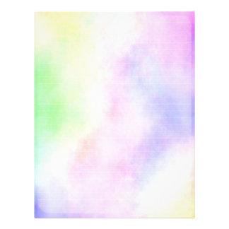Colorful Paper 21.5 Cm X 28 Cm Flyer