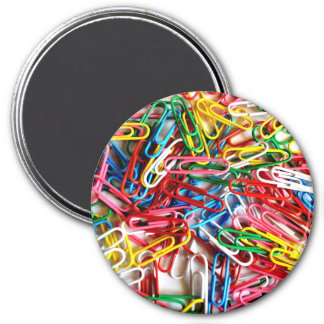 Colorful Paper Clips Office Supply Gifts Refrigerator Magnet