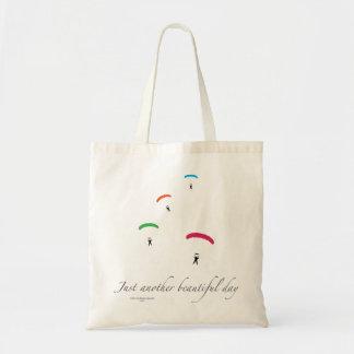 Colorful Parachutes Budget Tote Bag