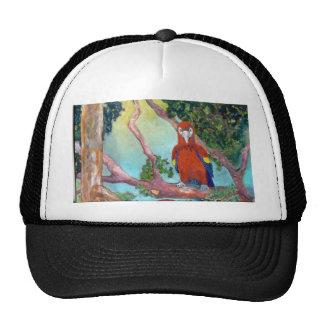 Colorful Parrot Mesh Hat