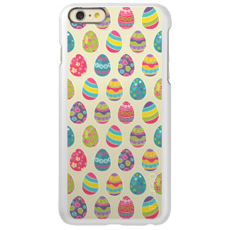Colorful Pastel Easter Eggs Cute Pattern iPhone 6 Plus Case