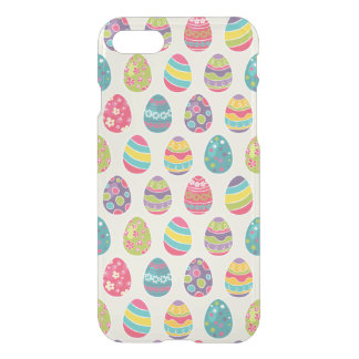 Colorful Pastel Easter Eggs Cute Pattern iPhone 7 Case