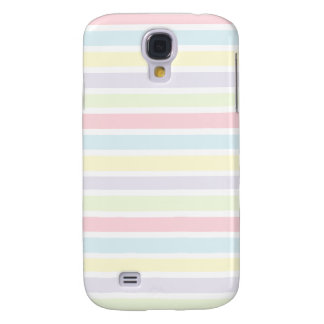 Colorful Pastel Lines Galaxy S4 Cover