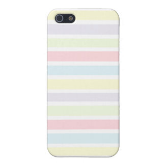 Colorful Pastel Lines iPhone 5 Covers