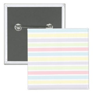 Colorful Pastel Lines Pinback Buttons