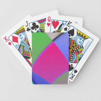 Colorful Patchwork Clown Playing Cards
