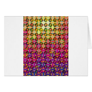 """Colorful Pattern Creation """"Perseus"""" Greeting Card"""