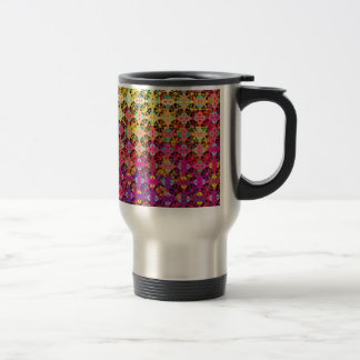 "Colorful Pattern Creation ""Perseus"" Stainless Steel Travel Mug"