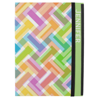 Colorful Pattern Custom iPad Pro Case