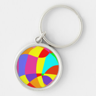 Colorful Pattern Keychain