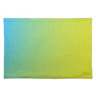 Colorful pattern place mats