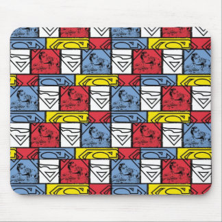 Colorful Pattern Shields Mouse Mat