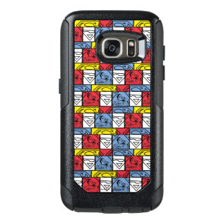 Colorful Pattern Shields OtterBox Samsung Galaxy S7 Case