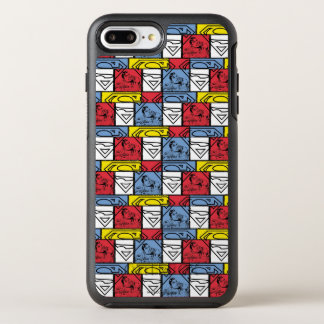 Colorful Pattern Shields OtterBox Symmetry iPhone 8 Plus/7 Plus Case