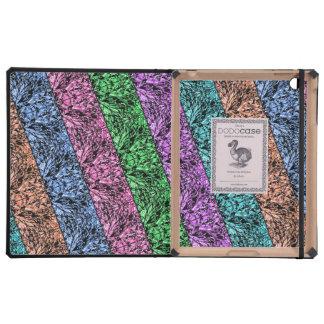 Colorful Pattern Stripes Dodo Ipad Case