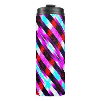 Colorful Pattern Thermal Tumbler