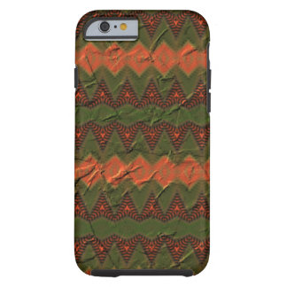 Colorful pattern with arrow shapes tough iPhone 6 case
