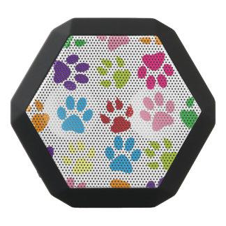 Colorful Paw Prints Pattern