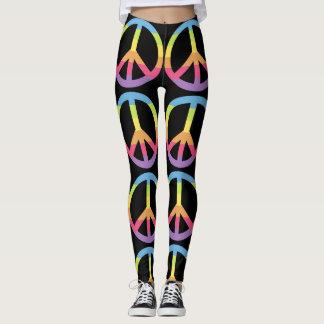 Colorful Peace Leggings
