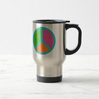 Colorful Peace Sign mugs