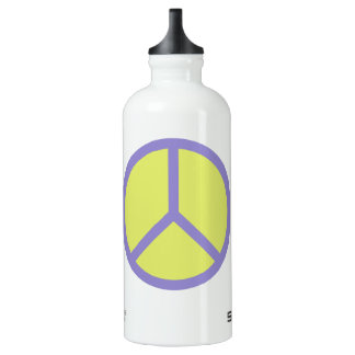 Colorful Peace Sign travel bottles