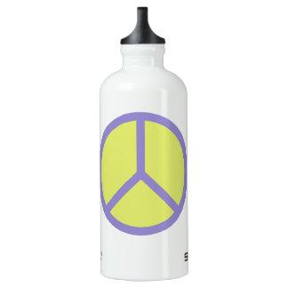 Colorful Peace Sign travel bottles SIGG Traveller 0.6L Water Bottle