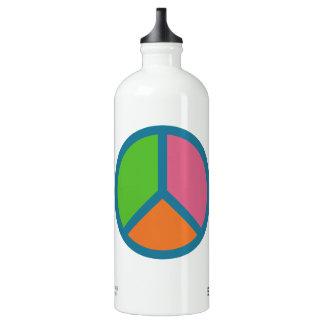 Colorful Peace Sign travel bottles SIGG Traveller 1.0L Water Bottle