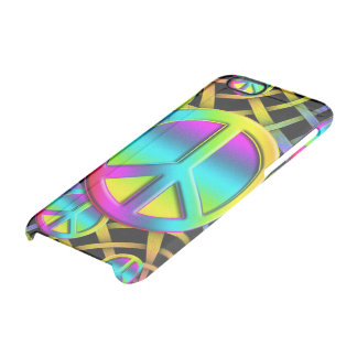 Colorful PEACE signs - make love not war iPhone 6 Plus Case