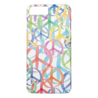 Colorful Peace Symbols iPhone 8 Plus/7 Plus Case