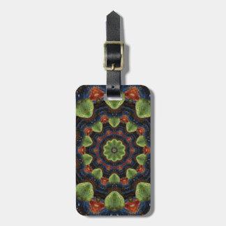 Colorful Pebble Kaleidoscope Luggage Tag