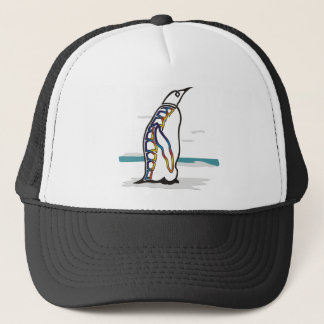 Colorful Penguin Trucker Hat