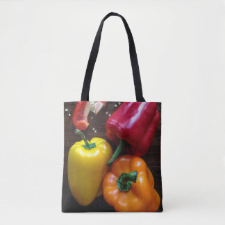 Colorful Peppers bags