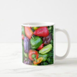 Colorful Peppers Coffee Mug