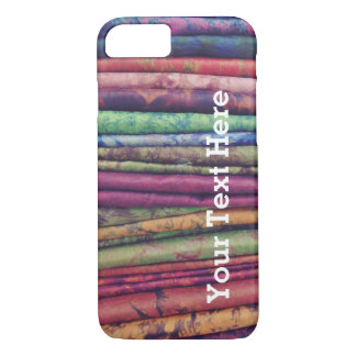 Colorful Phone Case fabric stack -- Customizable