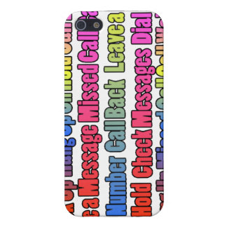 Colorful Phrases Mobile Cover Cover For iPhone 5/5S