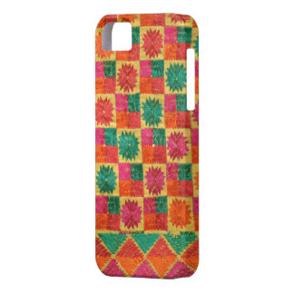 Colorful Phulkari Punjabi iPhone case