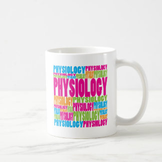 Colorful Physiology Coffee Mugs