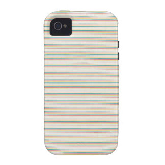 Colorful Pin Stripes Case-Mate iPhone 4 Cases