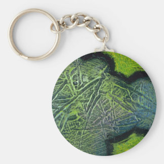Colorful Pine Needles Keychain