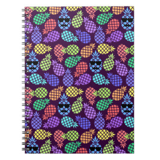 Colorful Pineapples, Notebook. Notebook
