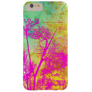 Colorful Pink Aqua and Yellow Dandelion Seeds Barely There iPhone 6 Plus Case