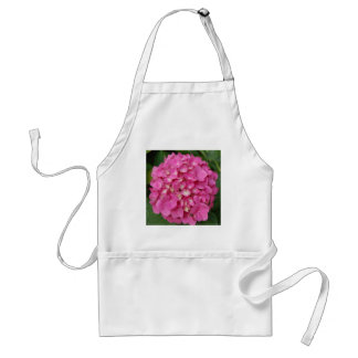 Colorful Pink Hydrangea Flower Petal Floral Adult Apron